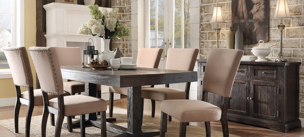 Furniture liquidation dining collection