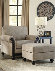 BLACKWOOD TAUPE ACCENT CHAIR BY ASHLEY
