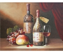 STILL LIFE WINE HAND PAINTED OIL PAINTING