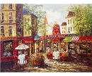 MOULIE ROUGE CAFE HAND PAINTED OIL PAINTING