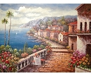 LA TUSCANY II HAND PAINTED OIL PAINTING