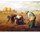 HARVEST HAND PAINTED OIL PAINTING