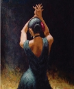 BLACK MAGIC HAND PAINTED OIL PAINTING