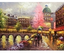 PARIS IN THE SPRING HAND PAINTED OIL PAINTING
