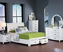 LYRIC COLLECTION 4 PCS BEDROOM SET