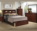 KOZY CAPTAIN BED WITH LARGE FRONT DRAWER BEDROOM SET