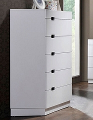 VISTA GLOSSY WHITE LACQUER CHEST