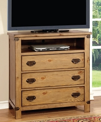 PIONEER BEDROOM COLLECTION MEDIA CHEST