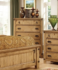 PIONEER BEDROOM COLLECTION 5 DRAWERS CHEST