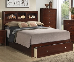 KOZY CAPTAIN BED WITH FRONT DRAWER BED ONLY