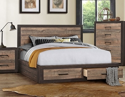 MITER LOW PROFILE STORAGE BED ONLY