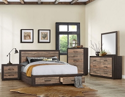 MITER LOW PROFILE STORAGE BEDROOM SUITE
