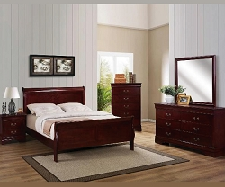 CHERRY LOUIS PHILLIPS BEDROOM SUITE