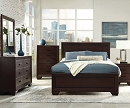 FENBROOK DARK COCOA 4 PIECES BEDROOM SUITE