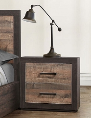 MITER LOW PROFILE STORAGE BEDROOM SET NIGHT STAND