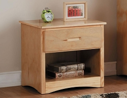 BARTLY NATURAL PINE NIGHTSTAND