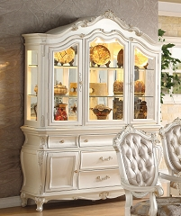 CHANTELLE COLLECTION HUTCH AND BUFFET