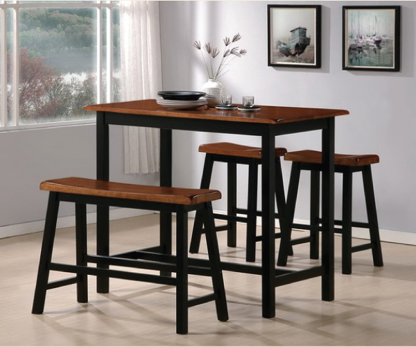Tyler 4 piece counter height set for 4 piece dining room set