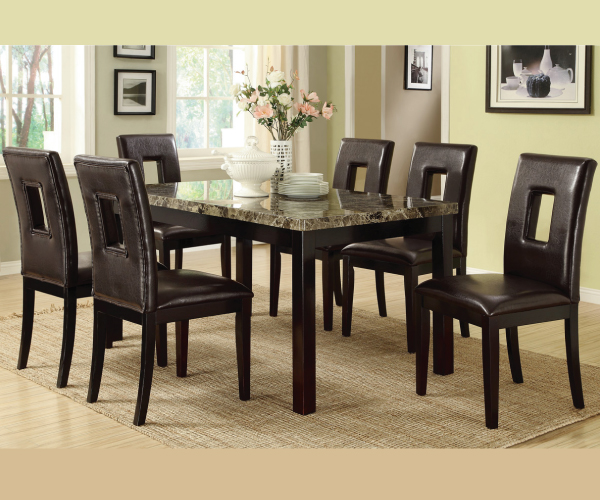 ... > DINING ROOMS > RECTANGLE TABLE > DANNY CASUAL 5 PIECE DINING SET