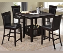 MIGGI 5 PIECE COUNTER HEIGHT DINING SET