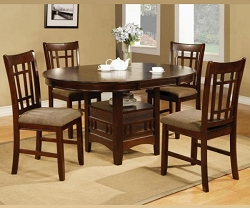 EMPIRE DARK ESPRESSO 5 PIECES DINING SET