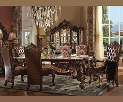 VERSAILLES COLLECTION CHERRY OAK FORMAL DINING SET