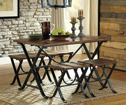 FREIMORE VINTAGE CASUAL 5 PIECE DINING SET