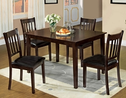WEST CREEK ESPRESSO 5 PIECE DINING SET