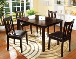 NORTHVALE I ESPRESSO 5 PIECE DINING SET