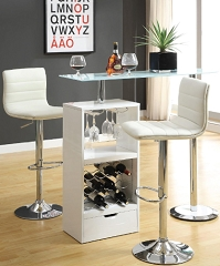 STERN HIGH GLOSS BAR WINE RACK SET