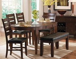 AMEILLIA OVAL BUTTERFLY LEAF DINING COLLECTION