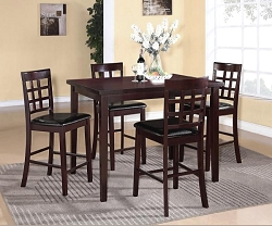 ALTA 5 PIECE COUNTER HEIGHT DINING SET