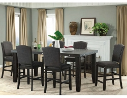 MARSEILLE INDUSTRIAL CHARMS COUNTER HEIGHT DINING SET