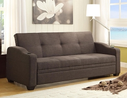 CAFFERY ELEGANT LOUNGER SOFA BED FUTON