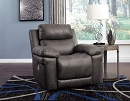 ERLANGEN MIDNIGHT POWER RECLINER CHAIR WITH ADJUSTABLE HEADREST
