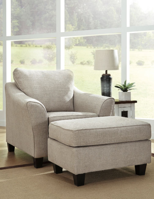 Abney Sofa Chaise With Pull Out Sleeper By Ashley