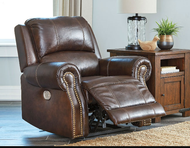 Buncrana Leather Match Power Seating With Adjustable