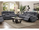 HOUSTON STONE RECLINING SOFA LOVE SEAT COLLECTION