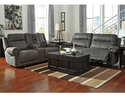 AUSTERE GRAY ZERO WALL RECLINER SEATING COLLECTION