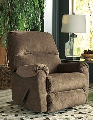 URBINO MOCHA ROCKER RECLINER CHAIR