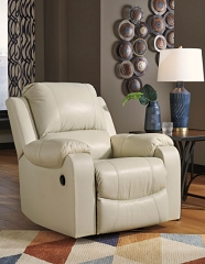 RACKINGBURG CREAM ROCKER RECLINING CHAIR