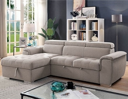 STINA SECTIONAL CHAISE WITH POP UP TRUNDLE
