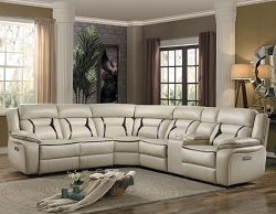 AMITE BEIGE POWER RECLINER SECTIONAL COLLECTION