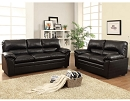TALON BLACK BONDED LEATHER MATCH SOFA LOVESEAT SPECIAL