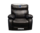 NFL DALLAS COWBOY CHAMP BONDED LEATHER ROCKER RECLINER CHAIR