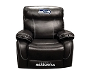 NFL SEATTLE SEAHAWKS CHAMP BONDED LEATHER ROCKER RECLINER CHAIR