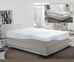 BISCAYNE BREEZE 12 INCHES GEL MATTRESS WITH ARCTIC FOAM TECHNOLOGY
