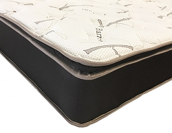 CARAMEL PILLOW TOP NON FLIP MATTRESS