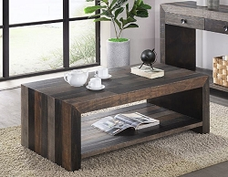 VINTAGE GREYS SOLID WOOD COFFEE TABLE