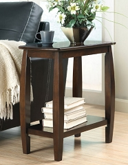 NOAH WALNUT ACCENT SIDE TABLE